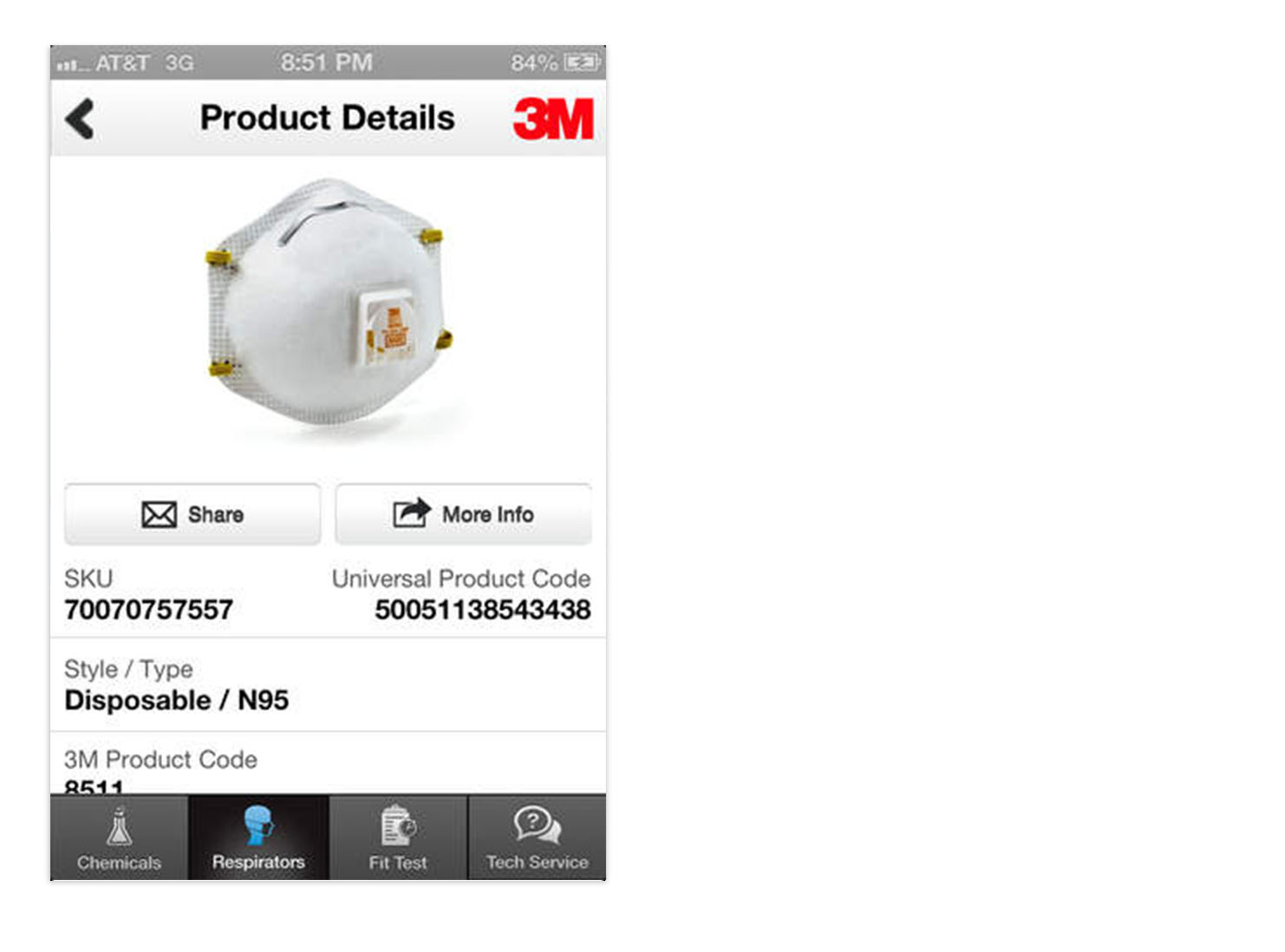 3M Respiratory Protection Resource Guide - iPhone and Android