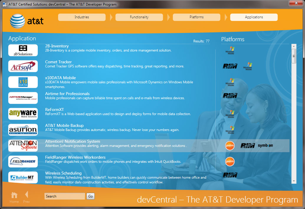 At&t devCentral Certified Solutions Toolkit