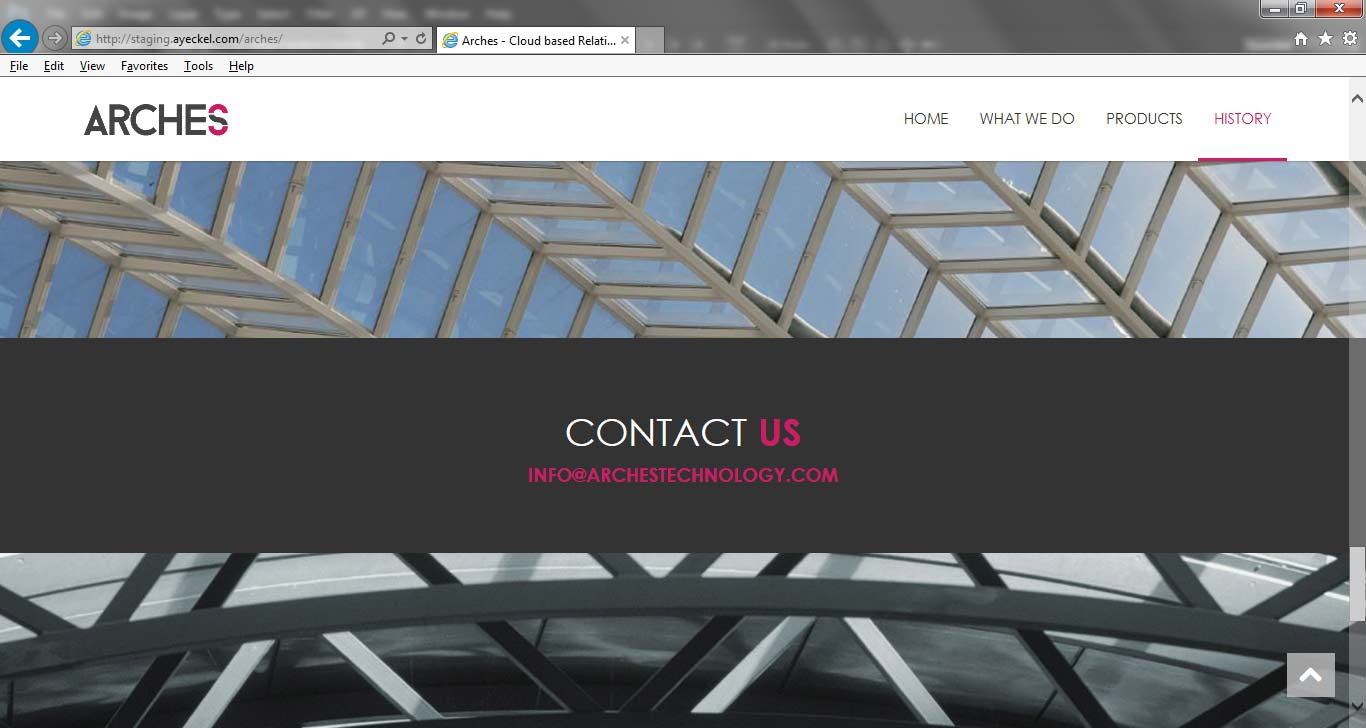 Arches Technology Wordpress Website Design