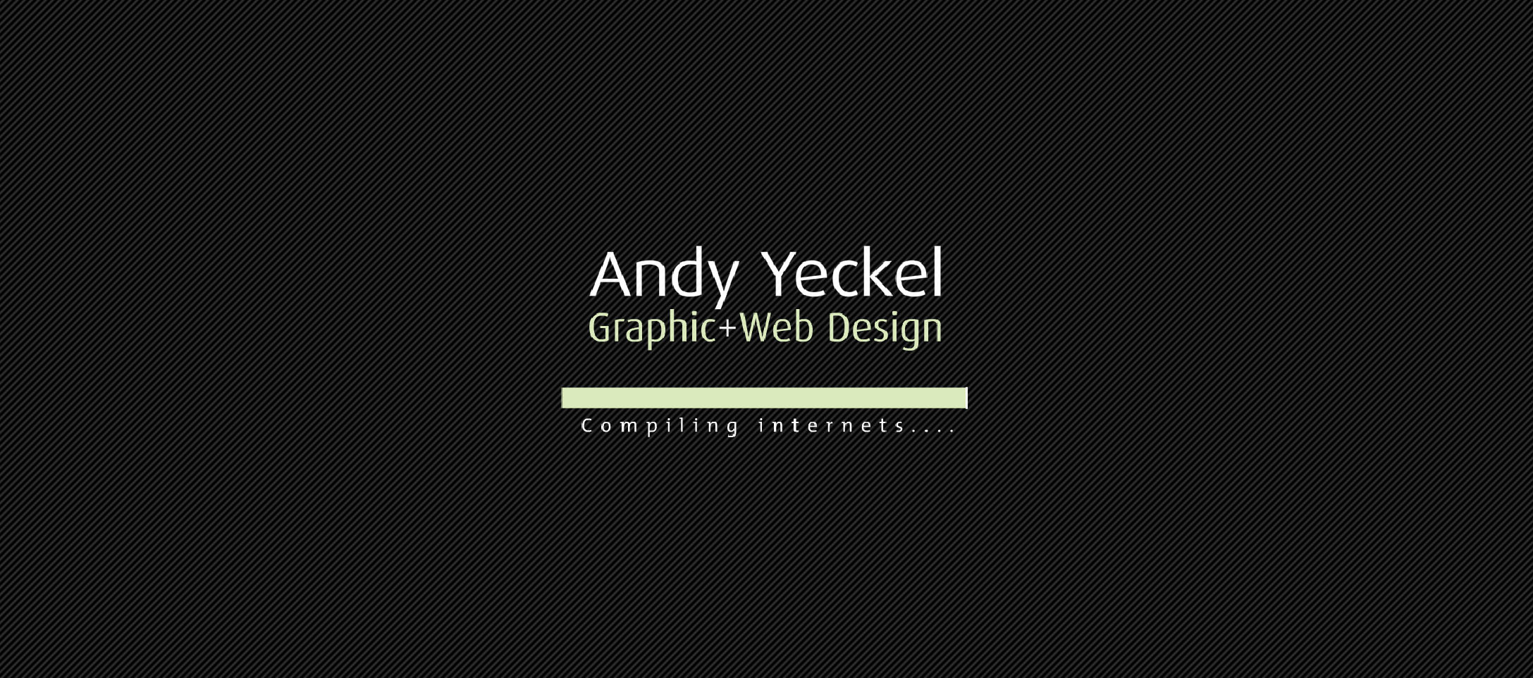 Ayeckel.com v1.0 - Student Portfolio Flash Website