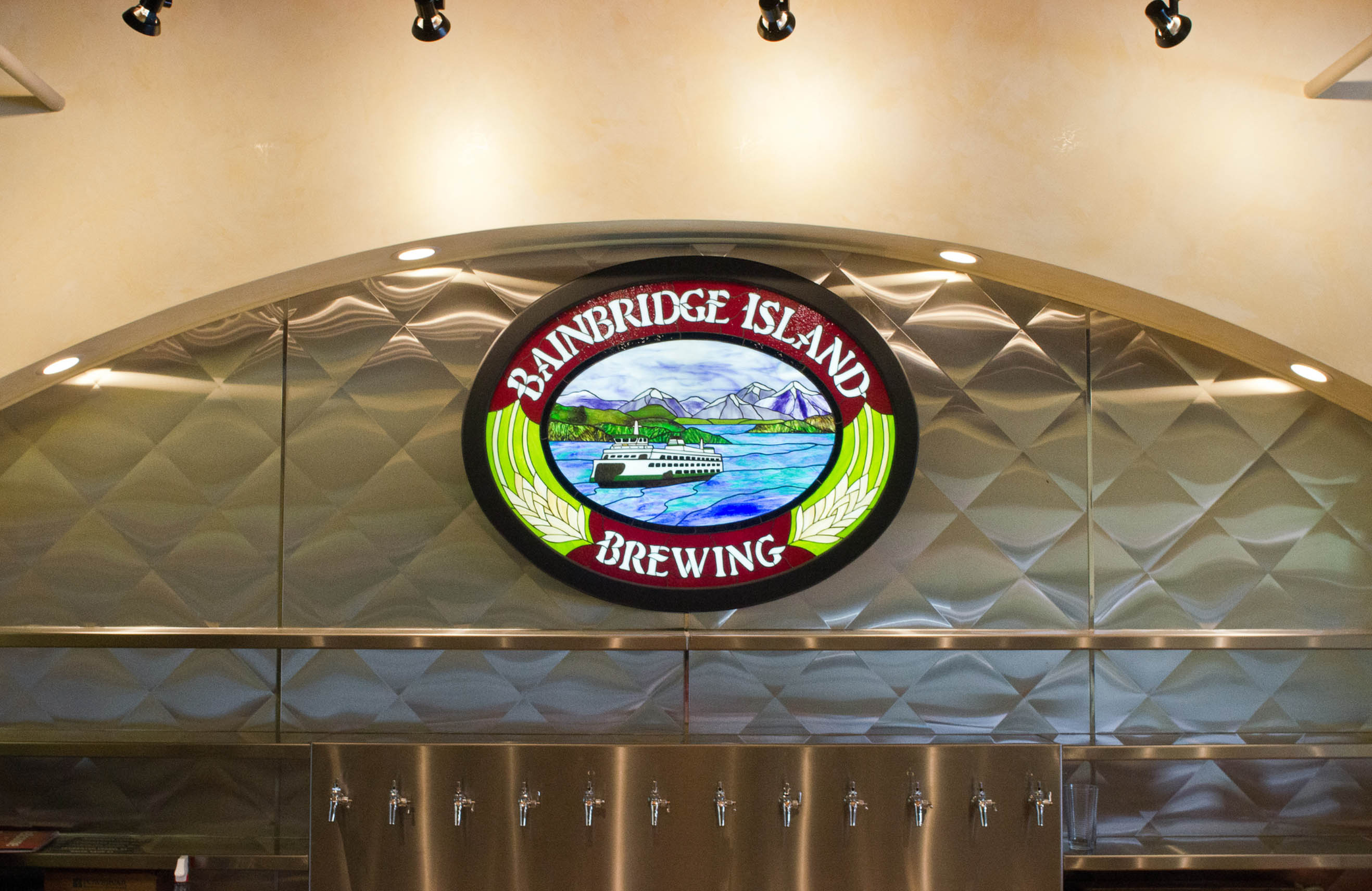 Bainbridge Island Brewing Photography