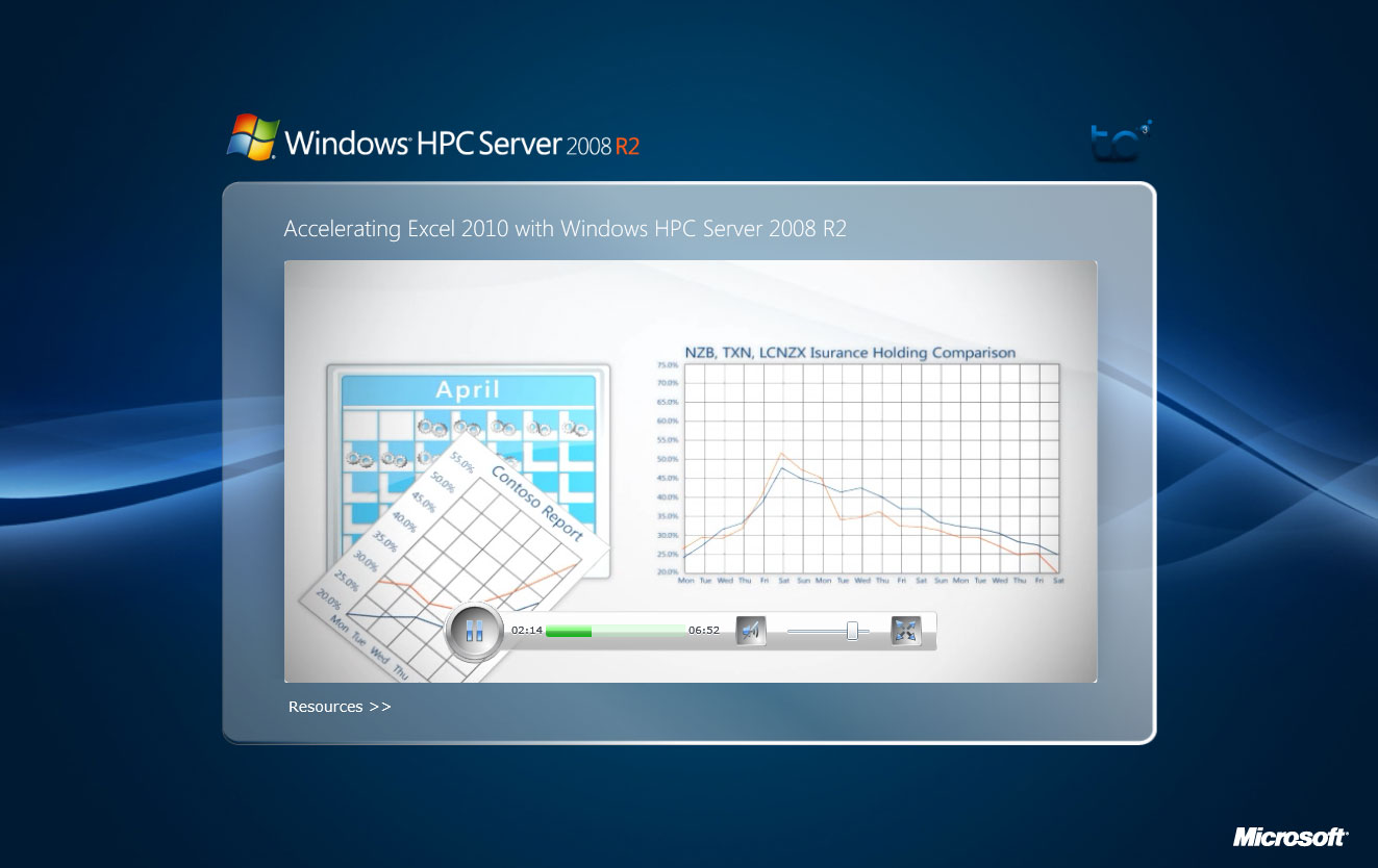 Microsoft High Performance Computing Animation