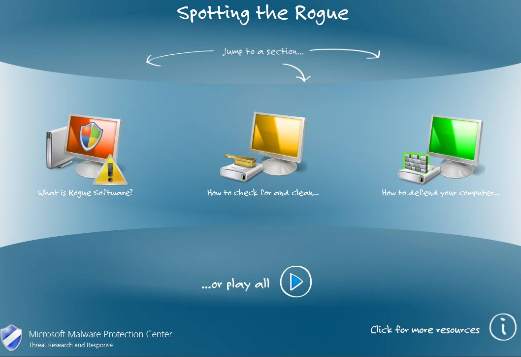 Microsoft MMPC - Spotting the Rogue Graphics and Animation